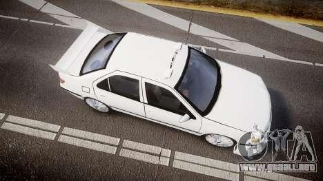 Peugeot 406 Taxi [Final] para GTA 4 visión correcta