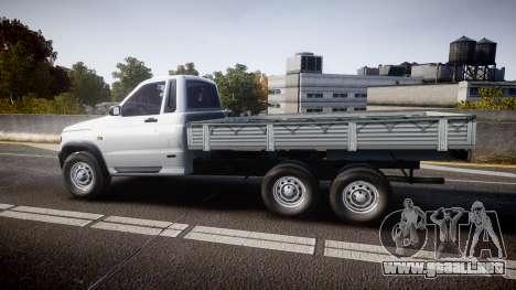 UAZ 2360 6x6 para GTA 4 left