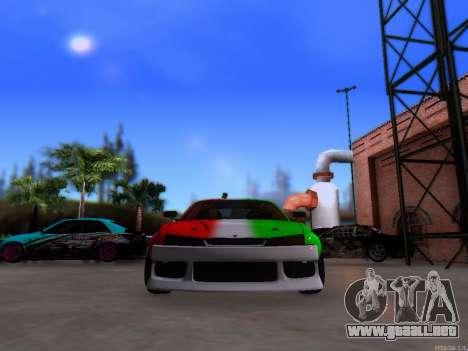 Nissan 200SX Elite Gas para la visión correcta GTA San Andreas