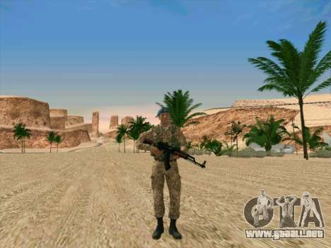 Granadero VDV para GTA San Andreas
