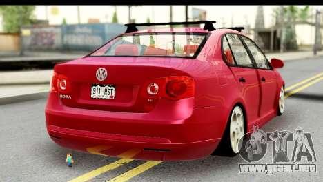 Volkswagen Bora GTI 2011 para GTA San Andreas left