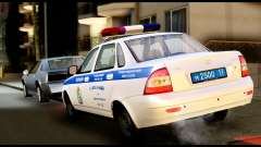 VAZ 2170 DE LA POLICÍA DE TRÁFICO
