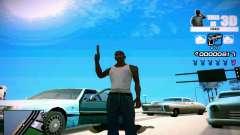 HUD 3D para GTA San Andreas