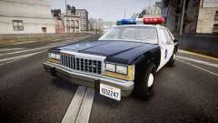 Ford LTD Crown Victoria 1987 LCPD [ELS] para GTA 4