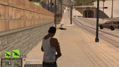 Un simple C-HUD para GTA San Andreas