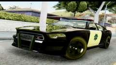 GTA 5 Buffalo S Police SF para GTA San Andreas