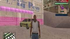 C-HUD by VinC para GTA San Andreas