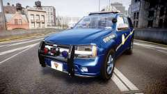 Chevrolet Trailblazer Virginia State Police ELS para GTA 4
