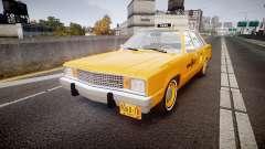 Ford Fairmont 1978 Taxi v1.1 para GTA 4