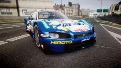Nissan Skyline R34 2003 JGTC Xanavi Hiroto