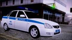 Lada Priora 2170 de policía de la MIA de Rusia para GTA San Andreas