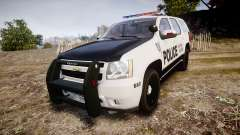 Chevrolet Tahoe 2010 Sheriff Dukes [ELS] para GTA 4