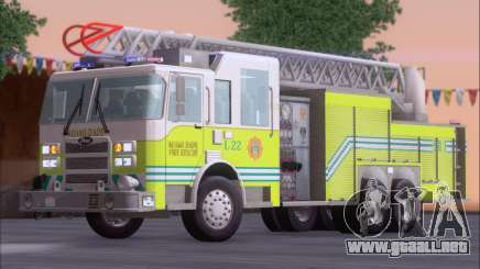 Pierce Arrow XT Miami Dade FD Ladder 22 para GTA San Andreas