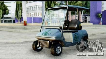 GTA 5 Caddy v2 para GTA San Andreas