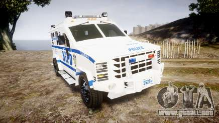 Lenco BearCat NYPD ESU [ELS] para GTA 4