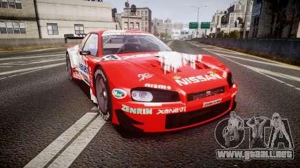 Nissan Skyline R34 2003 JGTC Xanavi para GTA 4