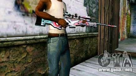AWP L96A1 (Looney) para GTA San Andreas