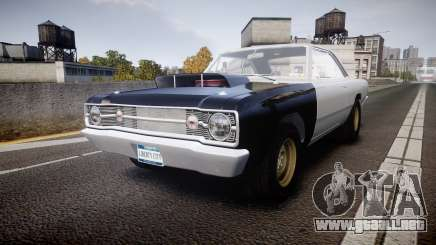 Dodge Dart HEMI Super Stock 1968 rims1 para GTA 4