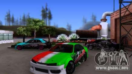 Nissan 200SX Elite Gas para GTA San Andreas