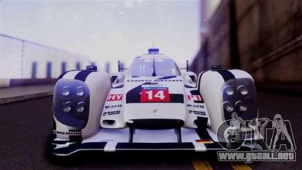 Porsche 919 Hybrid 2014 para GTA San Andreas