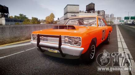 Dodge Dart HEMI Super Stock 1968 rims4 para GTA 4