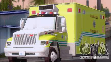 Pierce Commercial Miami Dade Fire Rescue 12 para GTA San Andreas