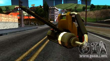 New Chainsaw para GTA San Andreas