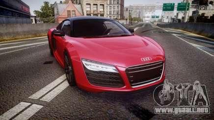 Audi R8 E-Tron 2014 dual tone para GTA 4