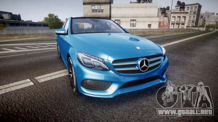 Mercedes-Benz C250 AMG (W205) 2015 para GTA 4