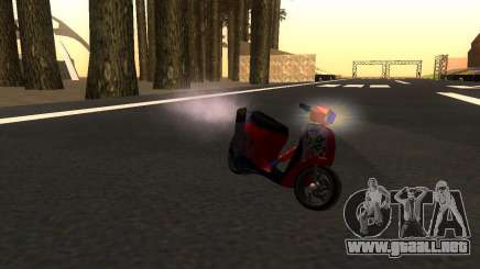 Faggio Stunt para GTA San Andreas