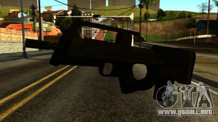 Assault SMG from GTA 5 para GTA San Andreas