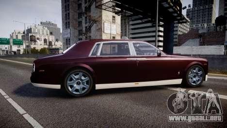 Rolls-Royce Phantom EWB v3.0 para GTA 4 left