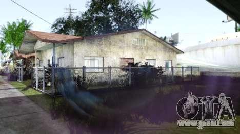 Miami Sunset ENB para GTA San Andreas sucesivamente de pantalla