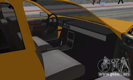 Renault 12 SW Taxi para visión interna GTA San Andreas