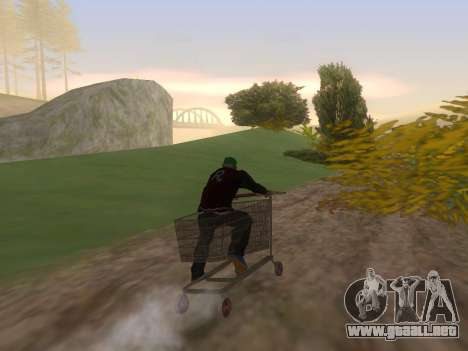 Shopping Cart para GTA San Andreas left