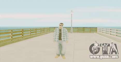 Ghetto Skin Pack para GTA San Andreas quinta pantalla