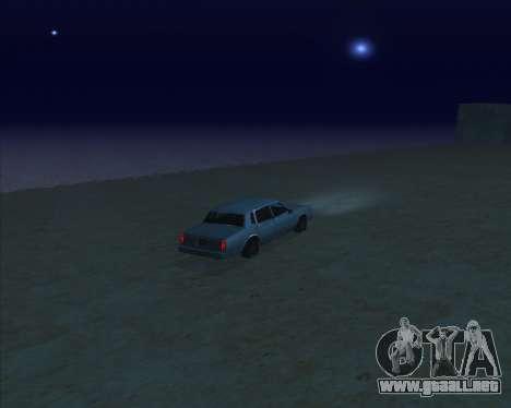 ENBSeries NEW Perfect Effects para GTA San Andreas sucesivamente de pantalla