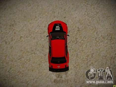 Mitsubishi Lancer Tokyo Drift para GTA San Andreas vista hacia atrás