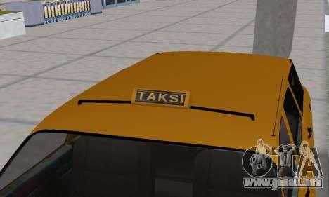 Renault 12 SW Taxi para las ruedas de GTA San Andreas