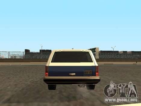 Rancher Four Door para las ruedas de GTA San Andreas