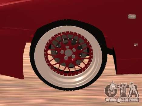 Nissan Skyline para visión interna GTA San Andreas