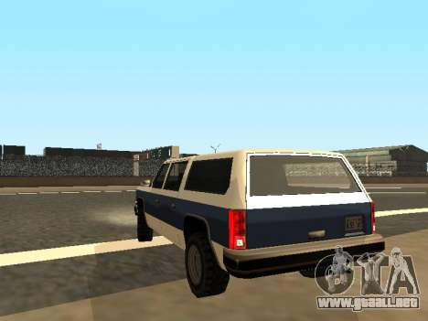 Rancher Four Door para GTA San Andreas left