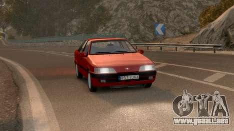 Daewoo Espero 1.5 GLX 1996 para GTA 4 visión correcta
