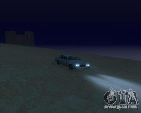 ENBSeries NEW Perfect Effects para GTA San Andreas quinta pantalla