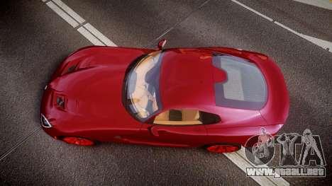 Dodge Viper SRT 2013 rims1 para GTA 4 visión correcta