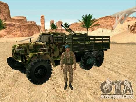 ZIL 131 Diablo Arba para visión interna GTA San Andreas