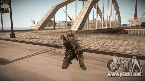 Animación de CoD MW3 para GTA San Andreas segunda pantalla