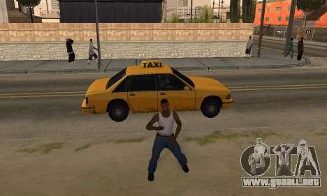 Dance para GTA San Andreas tercera pantalla