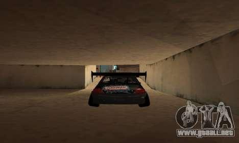 Mitsubishi Lancer Evo 9 VCDT V2 para visión interna GTA San Andreas