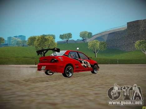 Mitsubishi Lancer Tokyo Drift para GTA San Andreas left